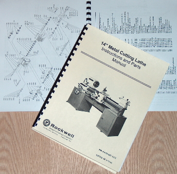 Rockwell Parts Catalog http://www.ebay.es/itm/ROCKWELL-14-Cabinet-Lathe-Older-Operating-Parts-Manual-0595-/310388410114