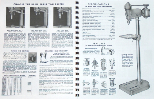 south bend 14 drill press operator 39 s parts manual 0667. Black Bedroom Furniture Sets. Home Design Ideas