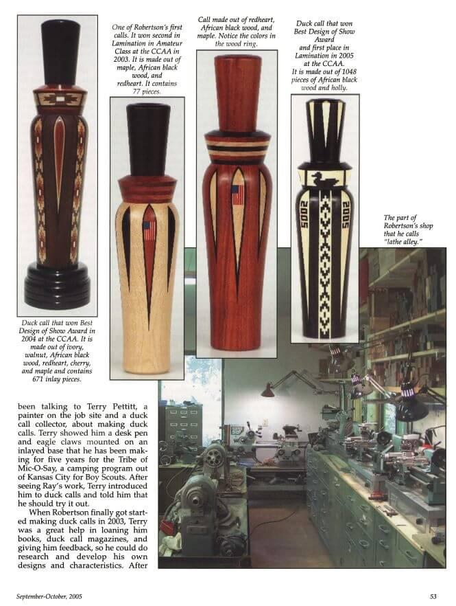 magazine-19 Robertson Calls Publications