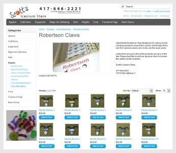 peachfloat BSA Robertson Claws