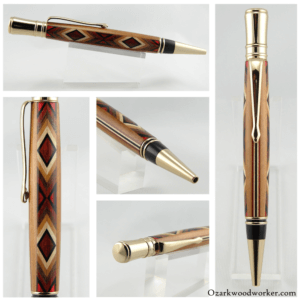 Page9-300x300 New Custom Segmented Inlay Ballpoint Pen Series