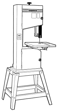 Powermatic Model 044 14' Wood Band Saw Instructions and Parts Owner's Manual