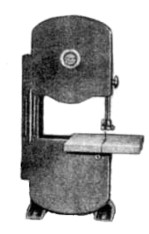 James 9 1 2 Inch Band Saw Model 595 Instructions And Parts Manual This Contains Information On Lubrication Operation Adjustments