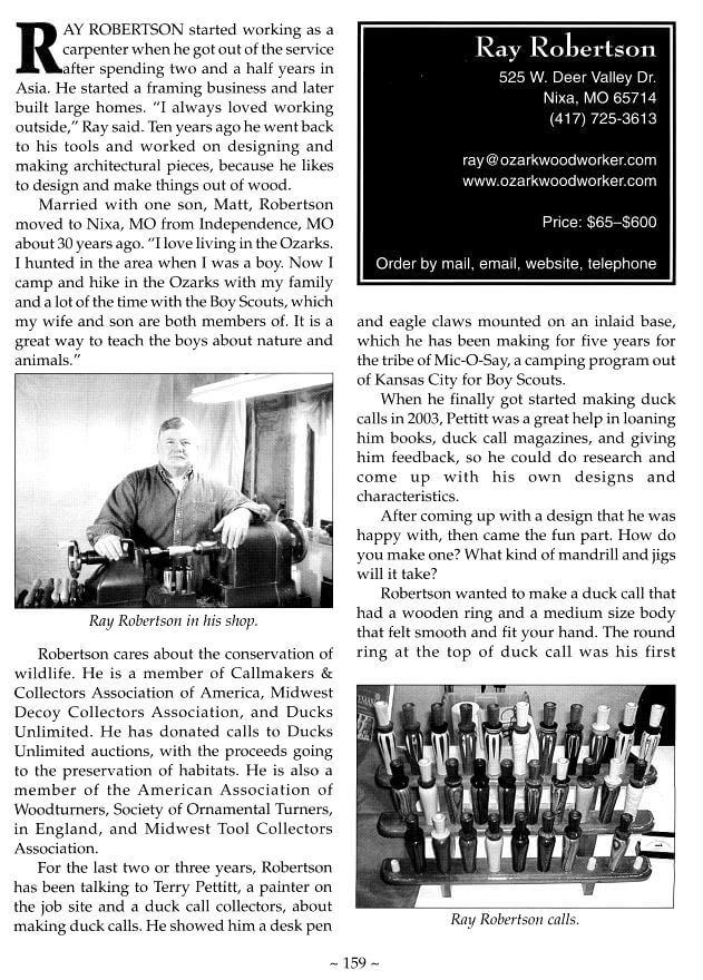 magazine-1 Robertson Calls Publications